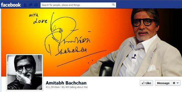 Amitabh Bachchan Facebook Page