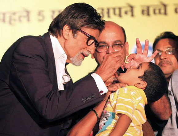 Polio Awareness and Big B