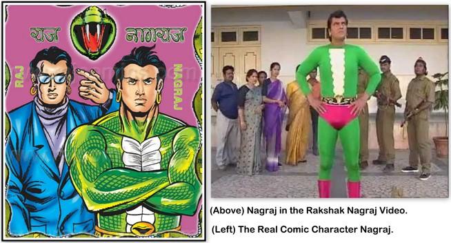 Raj Nagraj vs Rakshak Nagraj
