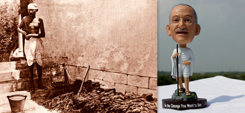 Mahatma Gandhi Bobble head