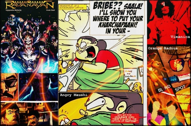 New Indian Comic Book Publications