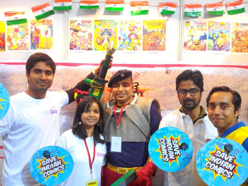 India Bobbles and Save Indian Comics