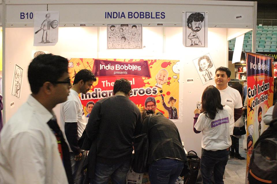 India BObbles Comic Con
