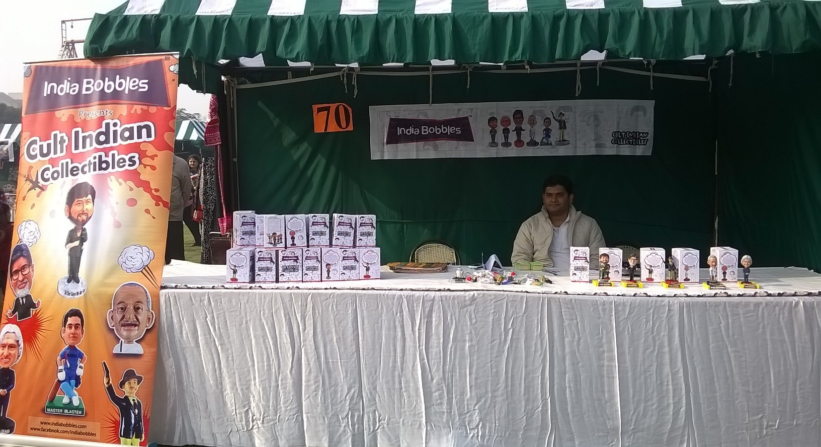 India Bobbles Stall