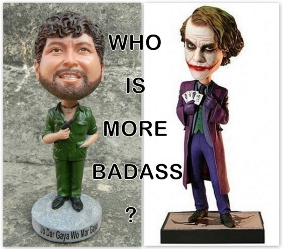 Badass Villains Gabbar and Joker