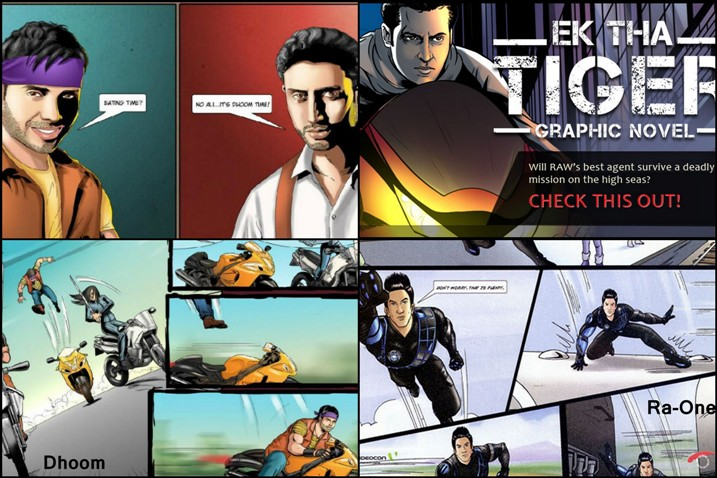 Bollywood Graphic Novels