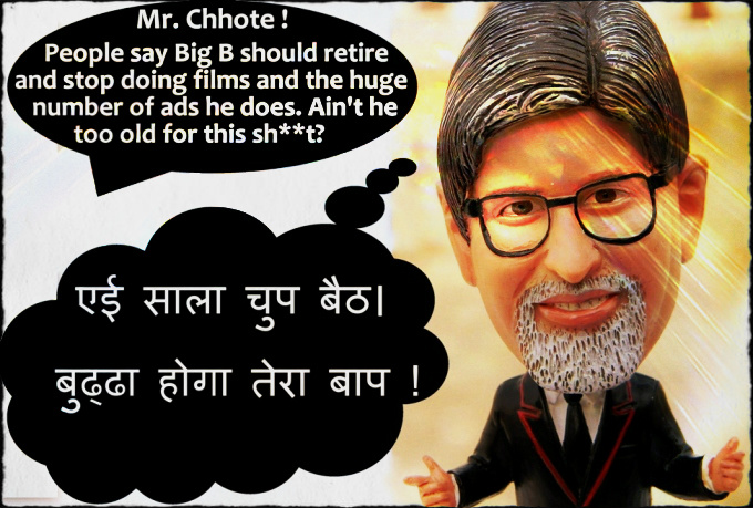 Chhote Bachchan Bobble Head