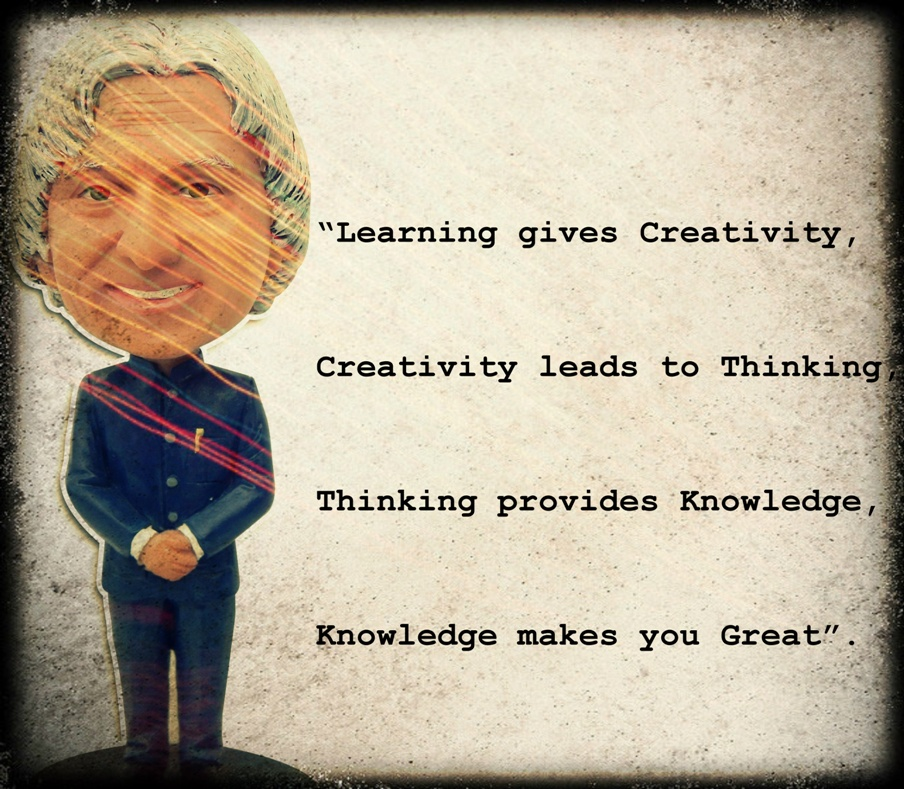 Dr. Kalaam and Creativity