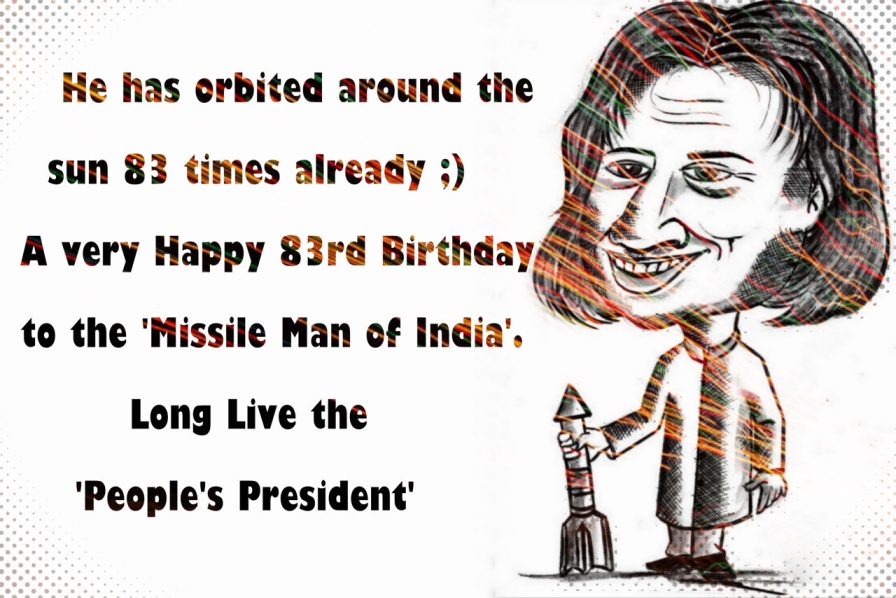 83rd Birthday of Dr. A P J Kalam