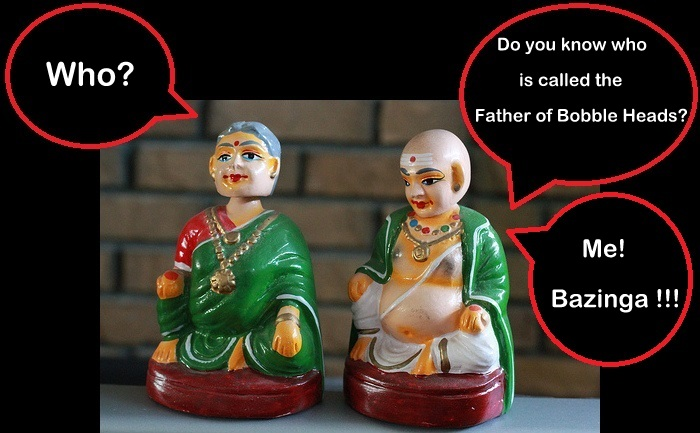 Old Indian Bobble Heads