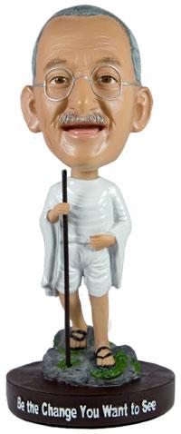 Mahatma Gandhi Bobblehead Photo